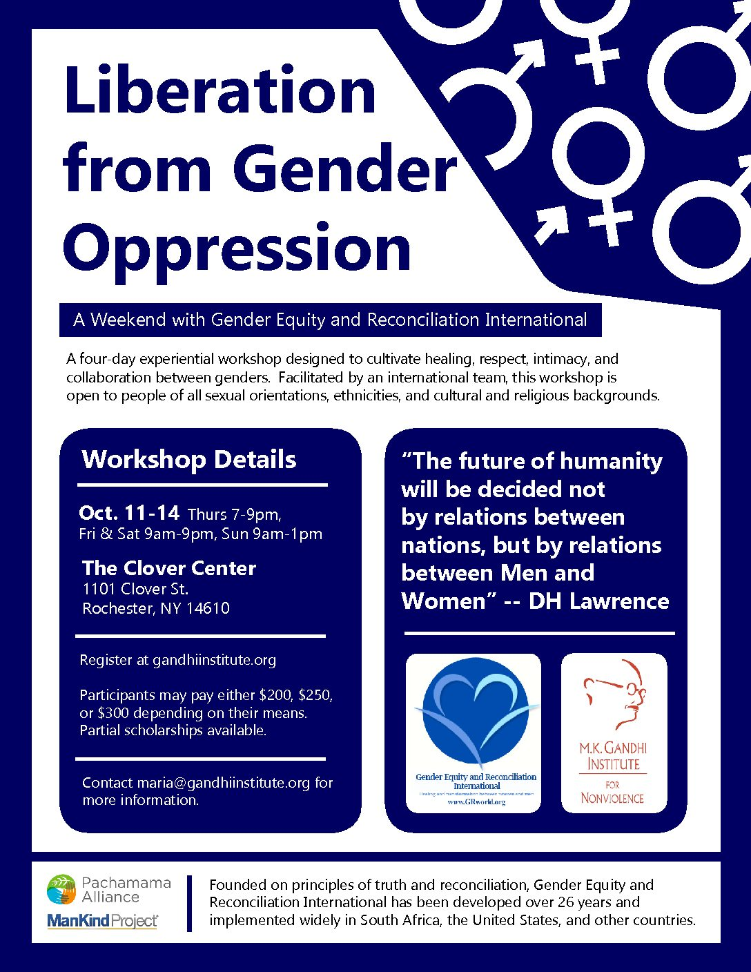 gender oppression Gender oppression often focuses on the oppression of women in a patriarchal society because women are constantly encouraged to assert feminine characteristics.